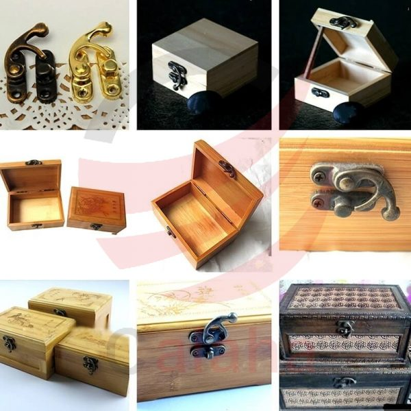 قفل آنتیک جعبه جواهرات