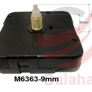 clock motor M6363 9mm 300x300 - موتور ساعت دیواری پایه بلند روانگرد 9mm