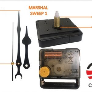 MARSHAL 300x300 - موتور ساعت دیواری پایه بلند مارشال