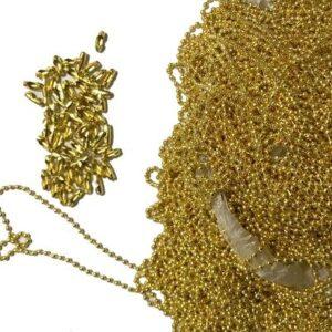 زنجیر ساچمه ای طلایی